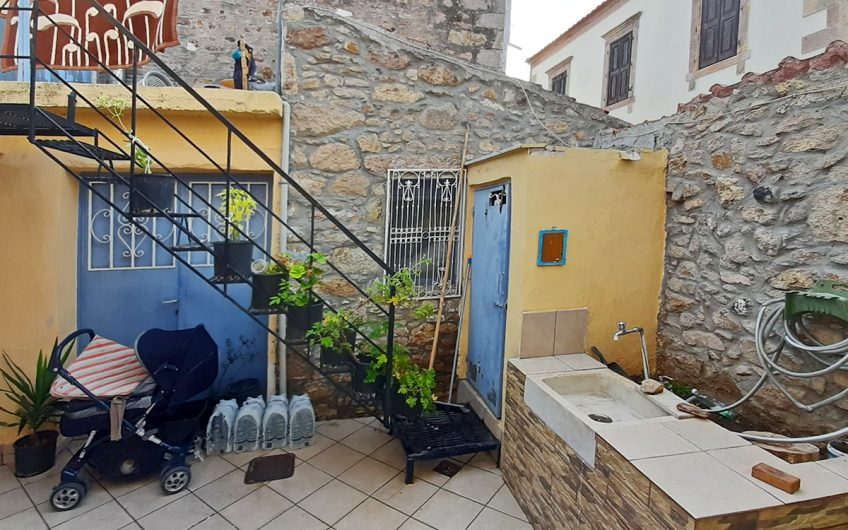 Modernized house for sale in Polichnitos