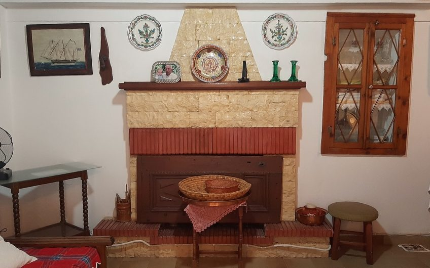 Three Bedroom Stone Built House with Garden for Sale in Polichnitos.